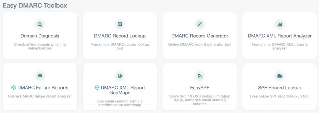 DMARC tools