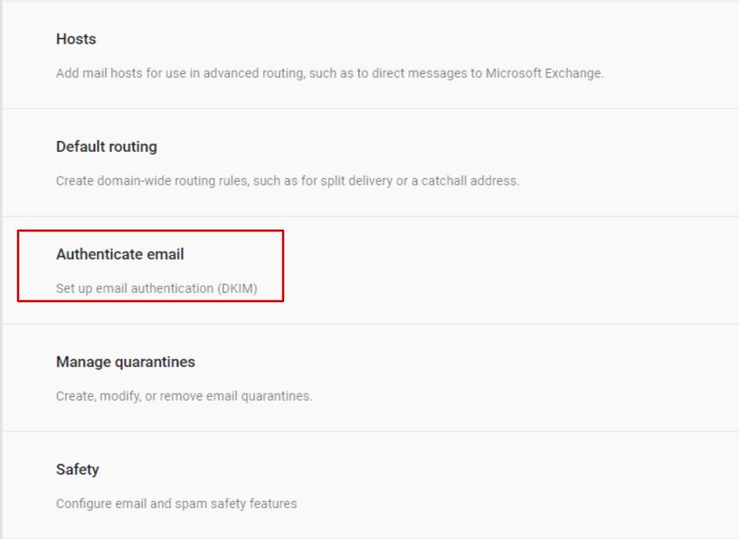 DKIM-For-GSuite-Google-Authentication