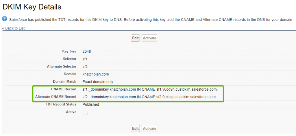 DKIM-Salesforce-Authentication-Security-DKIM-key-details