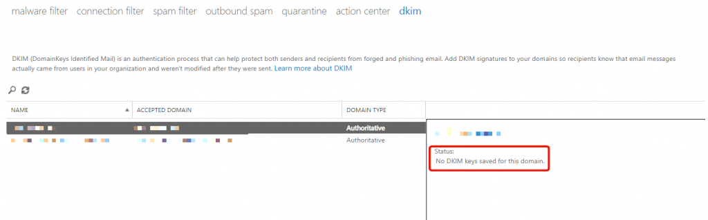 Microsoft365-DKIM-Issues-No-key-saved-for-this-domain