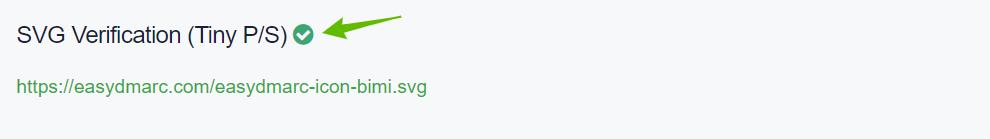 SVG-verification