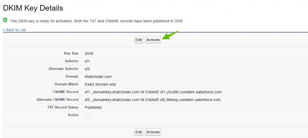 Salesforce-SPF-DKIM-Authentication-DKIM-key-is-ready