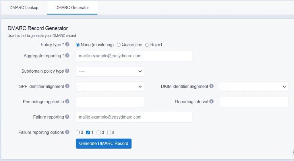 dmarc-record-generator