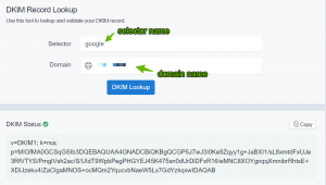 How to create, add and check DKIM records?