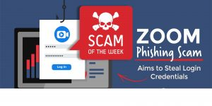 Zoom phishing scam aims to steal login credentials