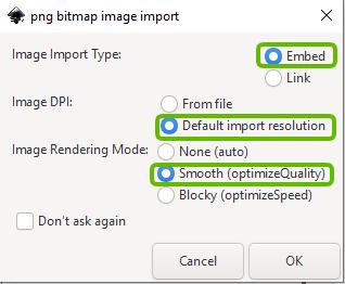 png bitmap image import