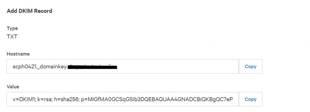 DKIM_TXT_Record_Sparkpost
