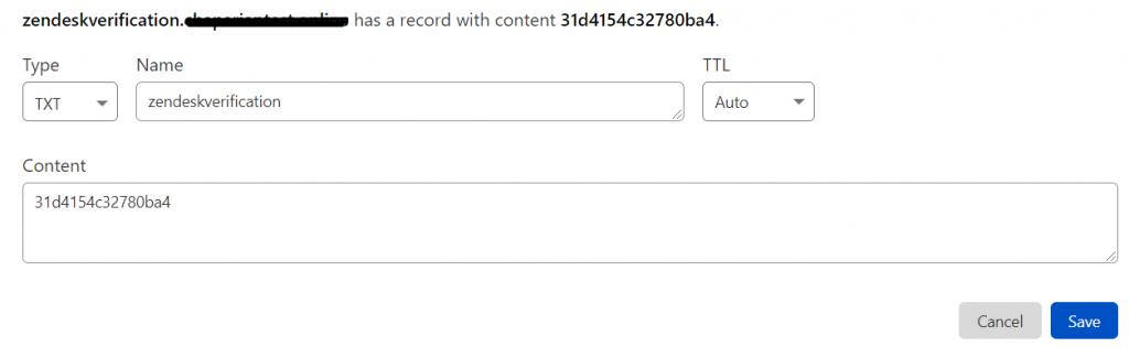 Zendesk_TXT_Record_DNS