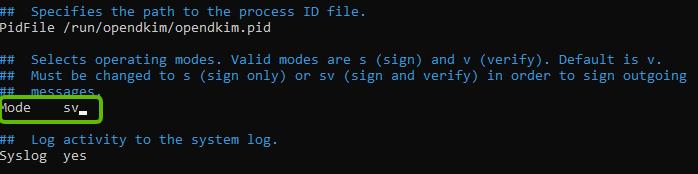 """Change """"Mode v"""" to """"Mode sv"""""""